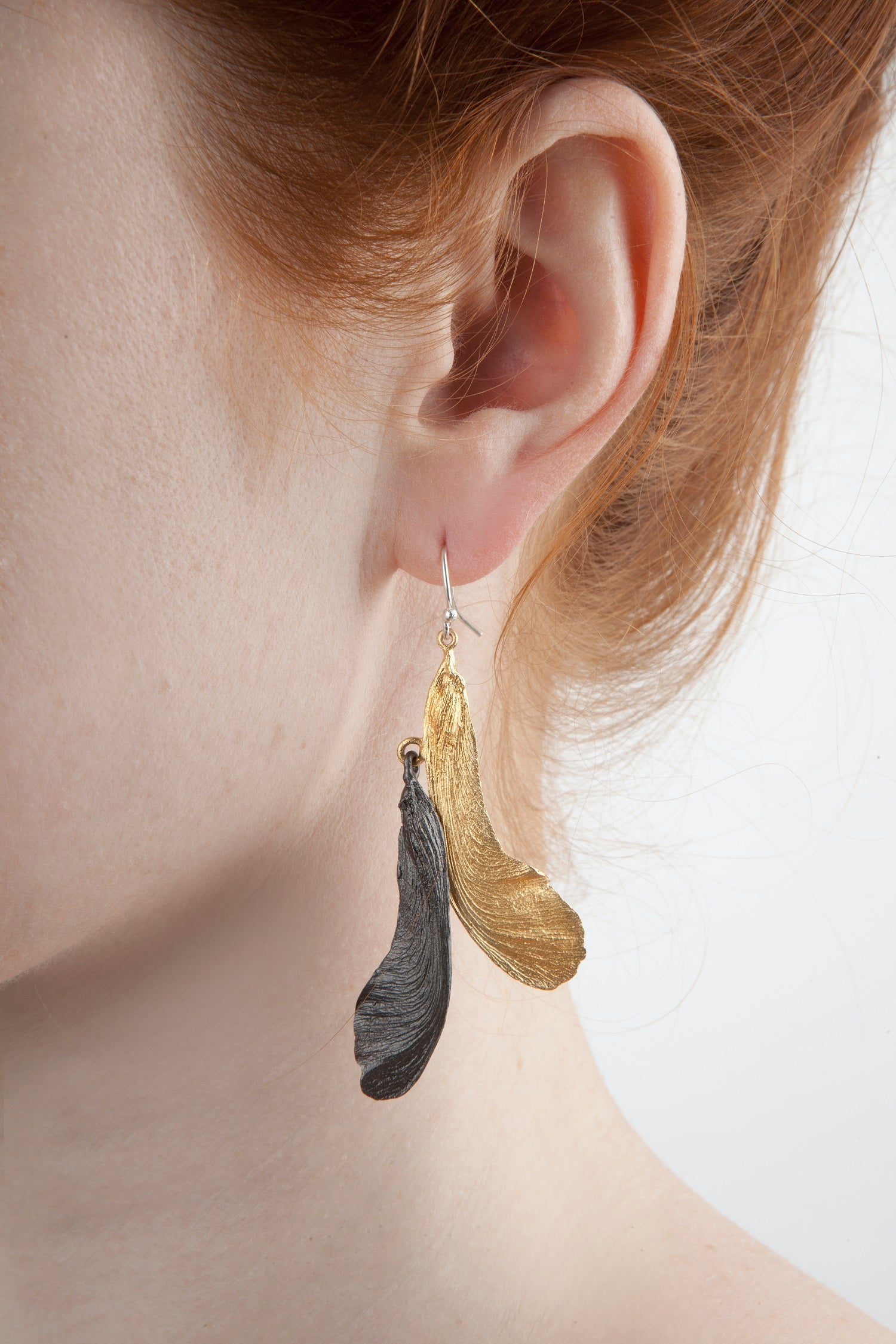Samara Earring - Large Two Tone Double Wire