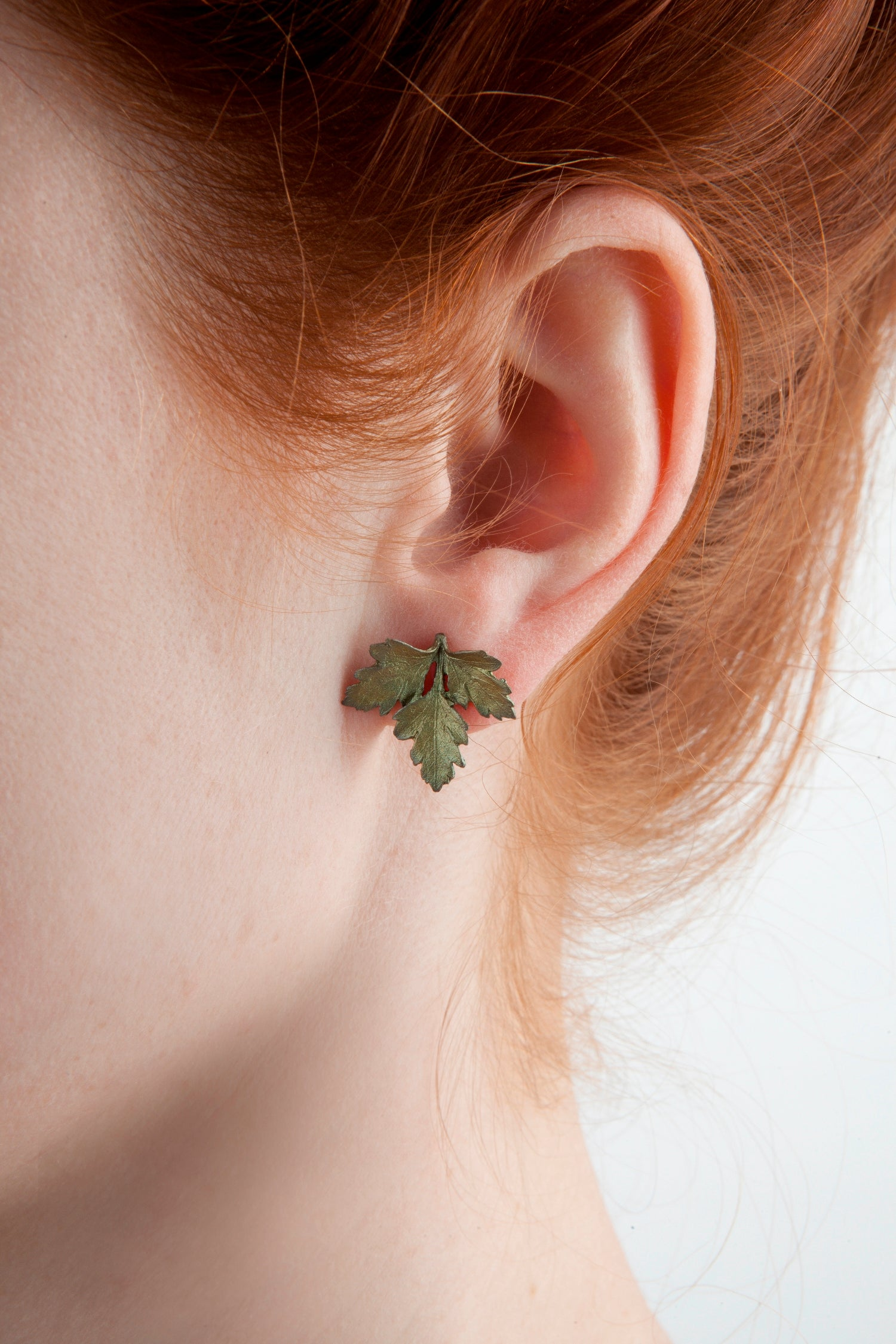 Petite Herb - Parsley Post Earring