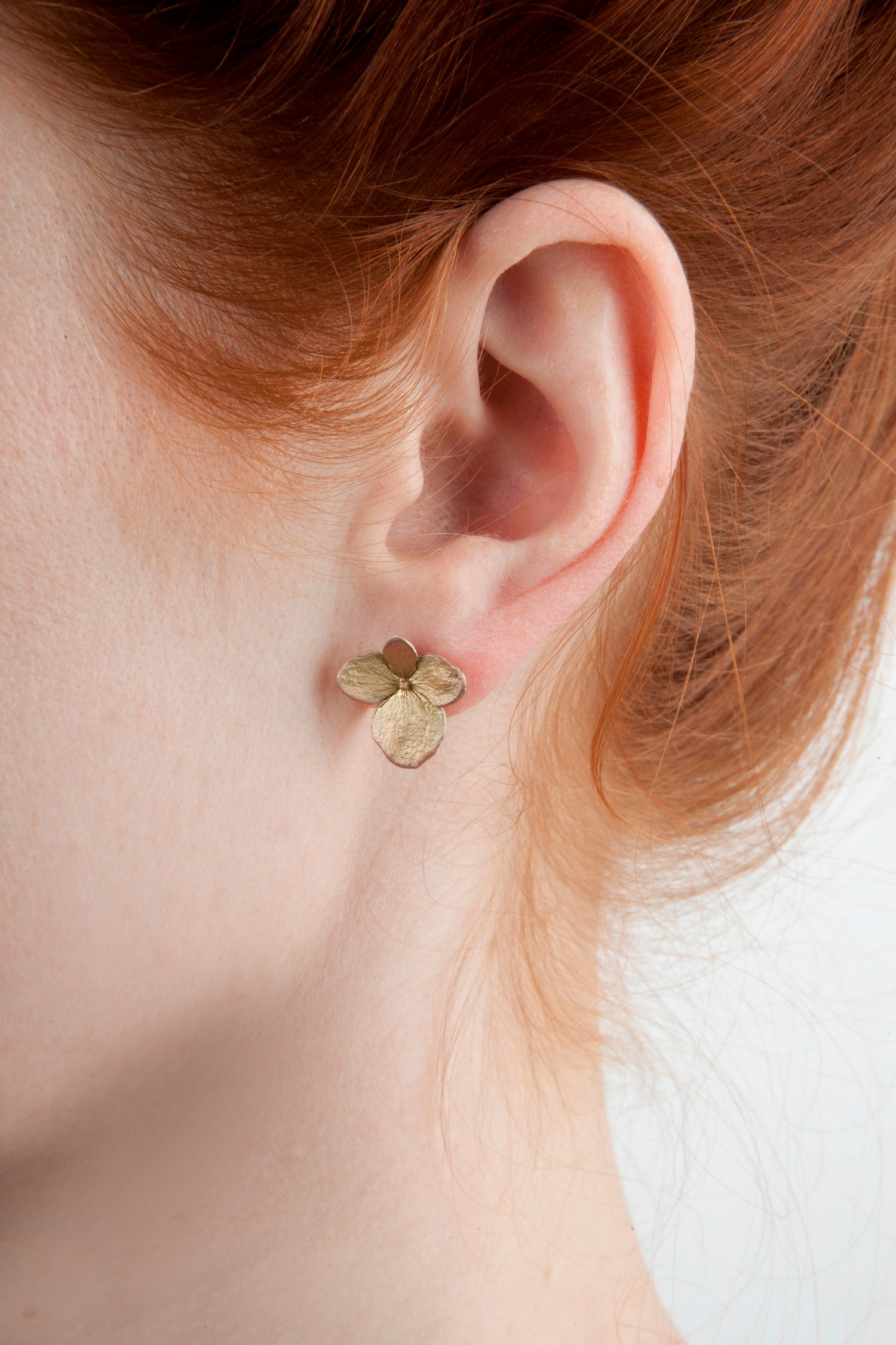 Hydrangea Earrings - Petal Post