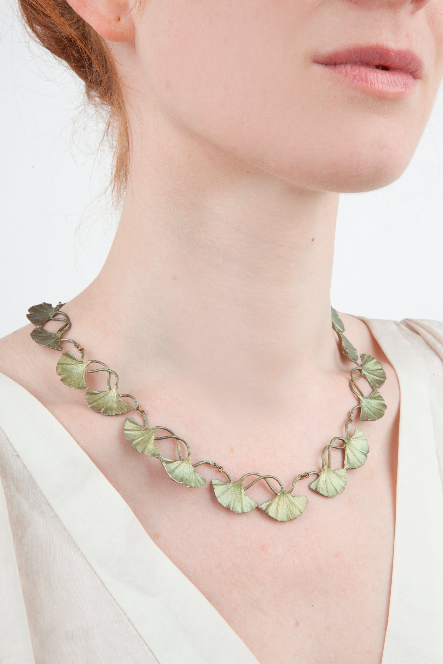Ginkgo Necklace - Contour