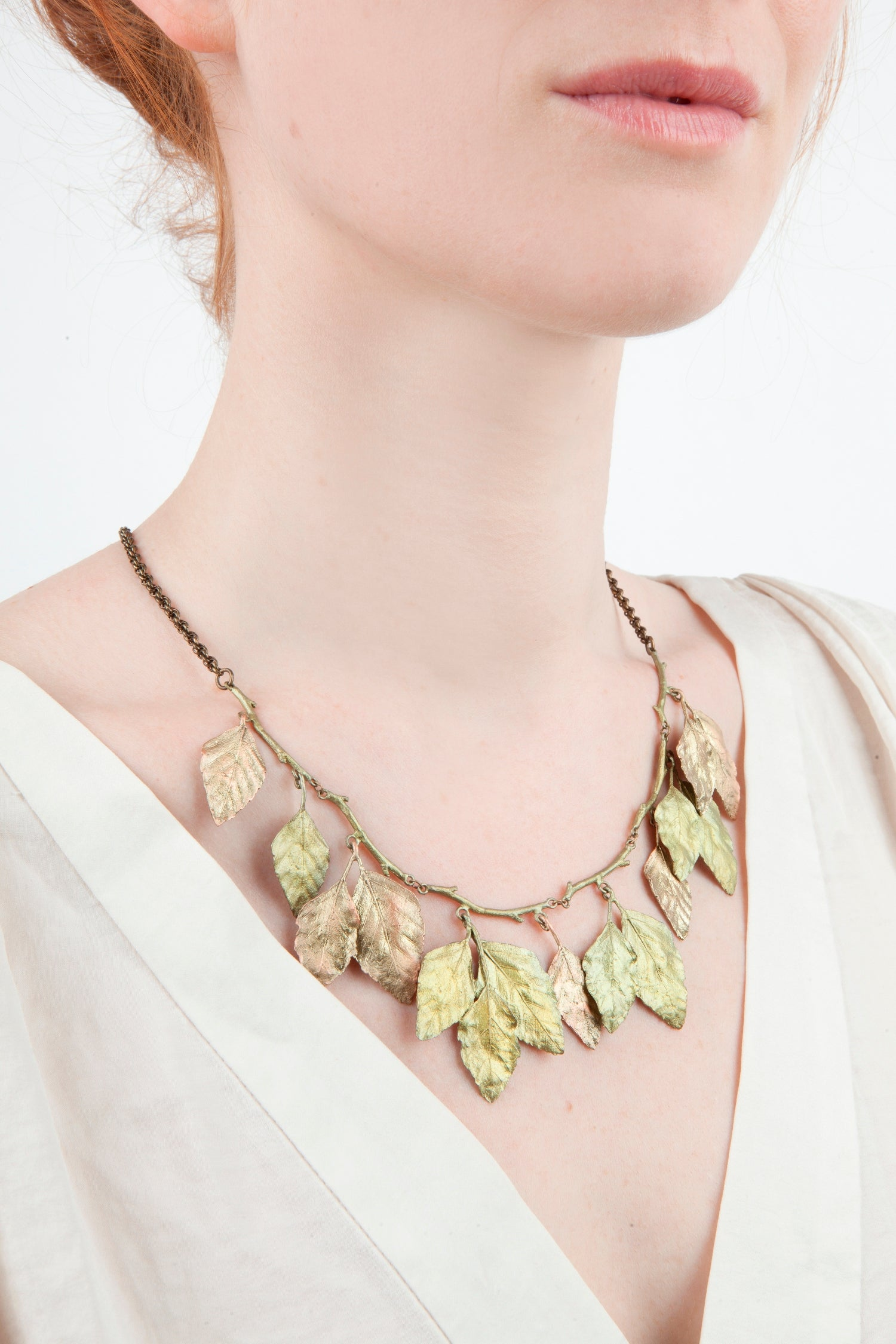 Autumn Birch Necklace - Statement