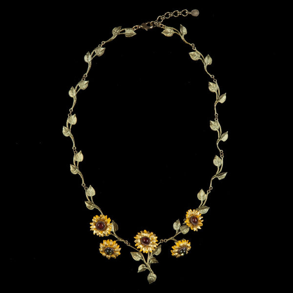 Van Gogh Sunflower Necklace