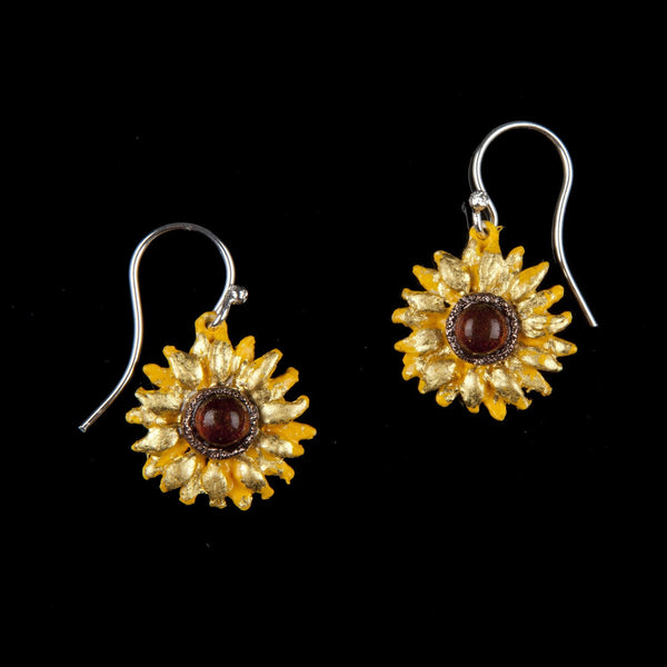 Van Gogh Sunflower Earrings