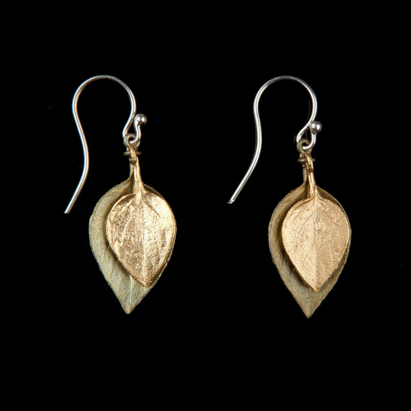 Sweet Basil Earrings - Two Tone Wire