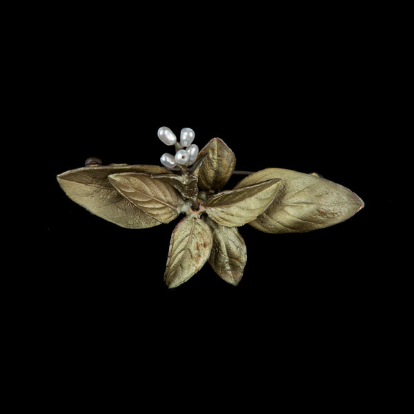 Sweet Basil Brooch