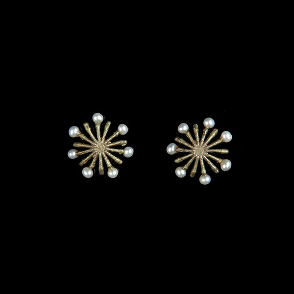 Firewheel Earrings - Petite Post