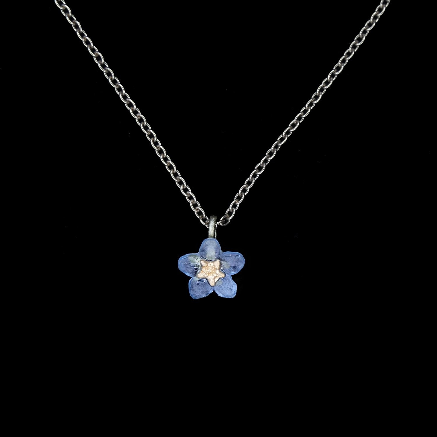 Forget Me Not Pendant - Single Flower