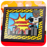 African American Superhero Signs Printable PDF