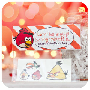 Angry Birds Valentine's Day Cards