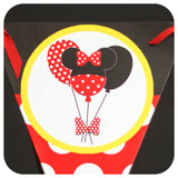 Minnie Mouse Banner Printable PDF