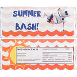 Frozen Olaf Summer Candy Bar Wrappers
