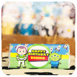 Toy Story Candy Bar Wrappers Editable Printable PDF