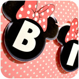 Minnie Mouse Pink Banner