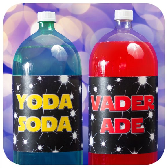 Star Wars 2 liter wrappers  Printable PDF