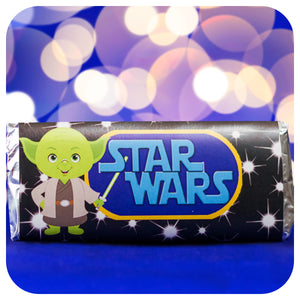 Star Wars Candy Bar Wrappers Printable PDF