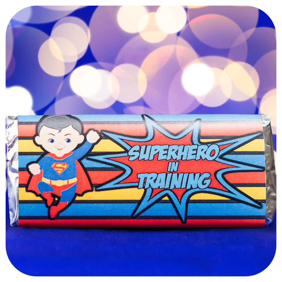 Superhero Candy Bar  Wrappers
