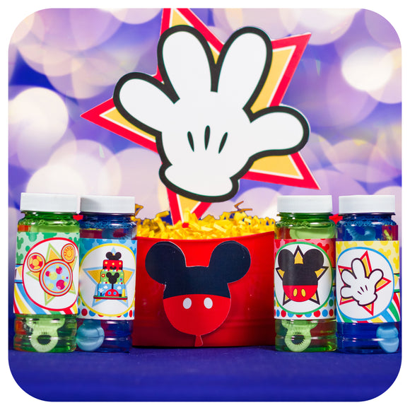 Mickey Mouse Clubhouse Bubble Wrappers Printable PDF