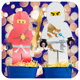 Lego Ninjago Party Package Printable PDF