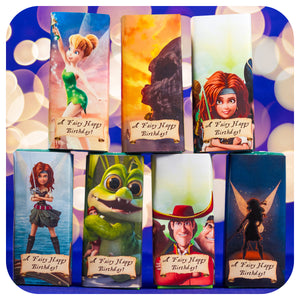 Pirate Fairy Juice Box Wrappers