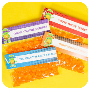 Teenage Mutant Ninja Turtle Favor Bag Toppers