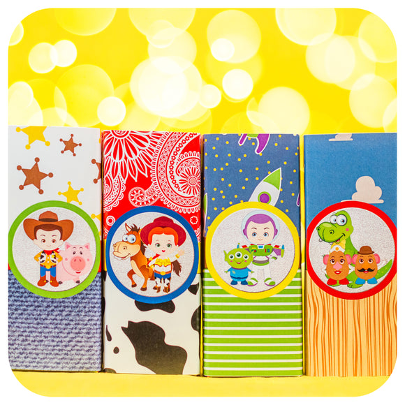 Toy Story Juice Box Wrappers