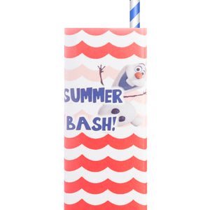 Frozen Olaf Summer Juice Box Wrappers