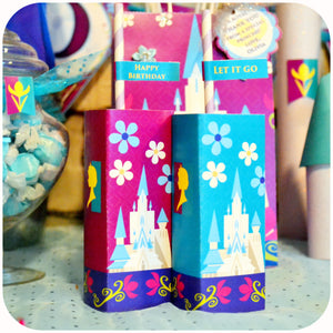 Frozen Coronation Day Juice Box Wrappers