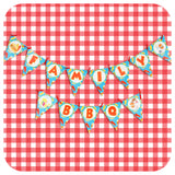 Backyard BBQ Banner Printable PDF