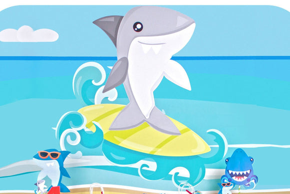 Shark Background Printable JPEG