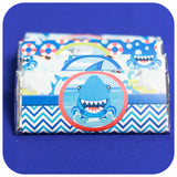 Shark Candy Bar Wrappers Printable PDF