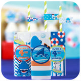 Shark Juice Box Wrappers Printable PDF