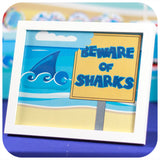 Shark Signs Printable PDF
