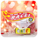 Hot Wheels Valentines Printable PDF