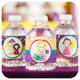 Tangled Water Bottle Wrappers Printable PDF