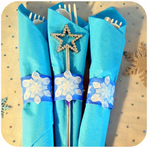 Frozen Napkin Rings