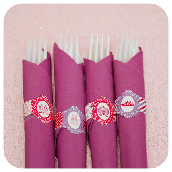 Pretty Princess Napkin Rings
