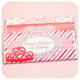 Pretty Princess Candy Bar Wrappers