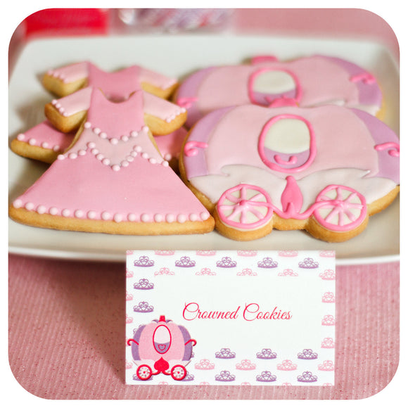 Pretty Princess Food Tent Labels