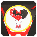Minnie Mouse Red Banner