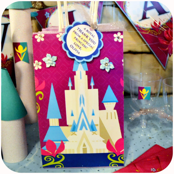 Frozen Coronation Day Gift Bags