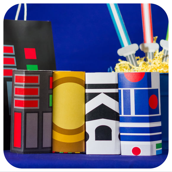 Star Wars Juice Box Wrappers Printable PDF