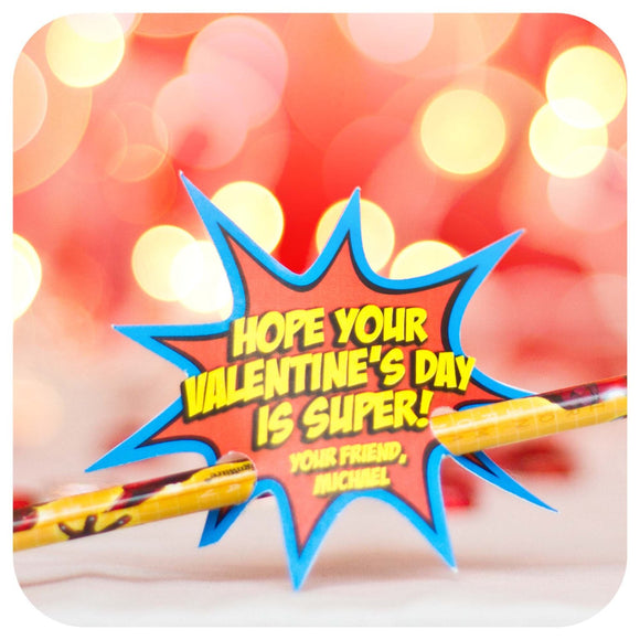 Spiderman Valentines Printable PDF