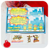 Teenage Mutant Ninja Turtles Valentines Printable PDF