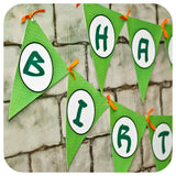 Teenage Mutant Ninja Turtle Deluxe Garland Banner Printable PDF
