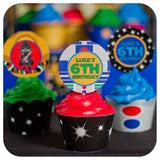 Star Wars Cupcake Wrappers  & Toppers Printable PDF