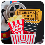 Movie Night Centerpieces Printable PDF