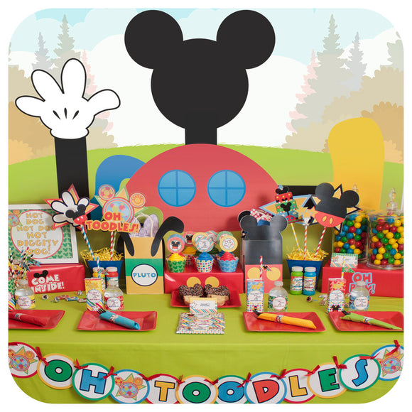 Mickey Mouse Clubhouse Party Printable PDF