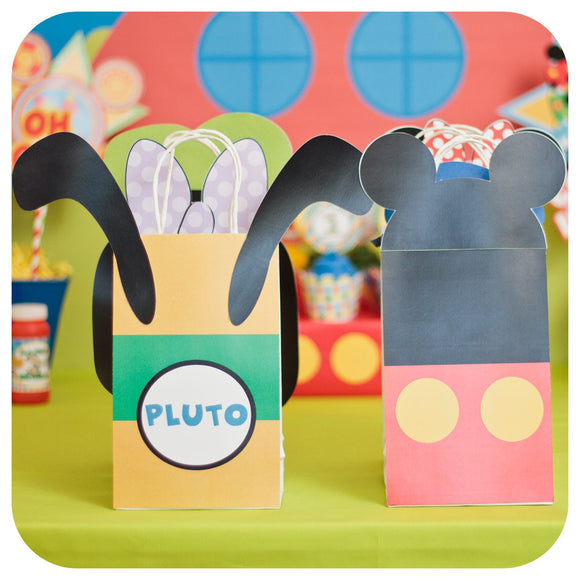 Mickey Mouse Clubhouse Gift Bags Printable PDF