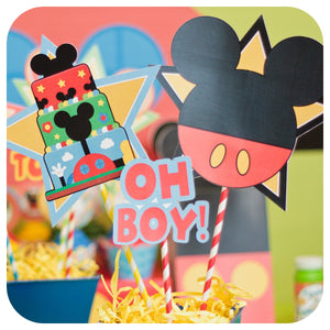 Mickey Mouse Clubhouse Centerpieces Printable PDF