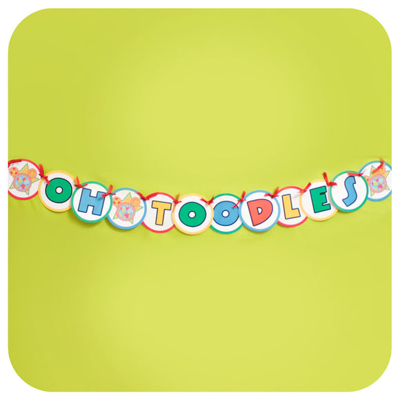 Mickey Mouse Clubhouse Deluxe Garland Printable PDF